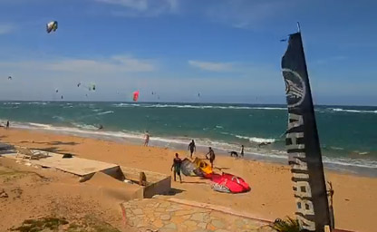 Kite Beach in Cabarete