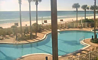 Panama City Beach - Pool View