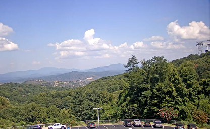 Mountain Valley View from Ober Gatlinburg