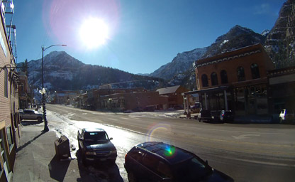 Ouray by Daylight (South View)