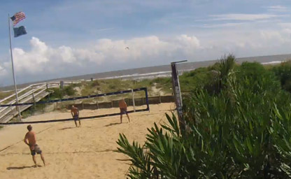 Isle of Palms, Volleyball View